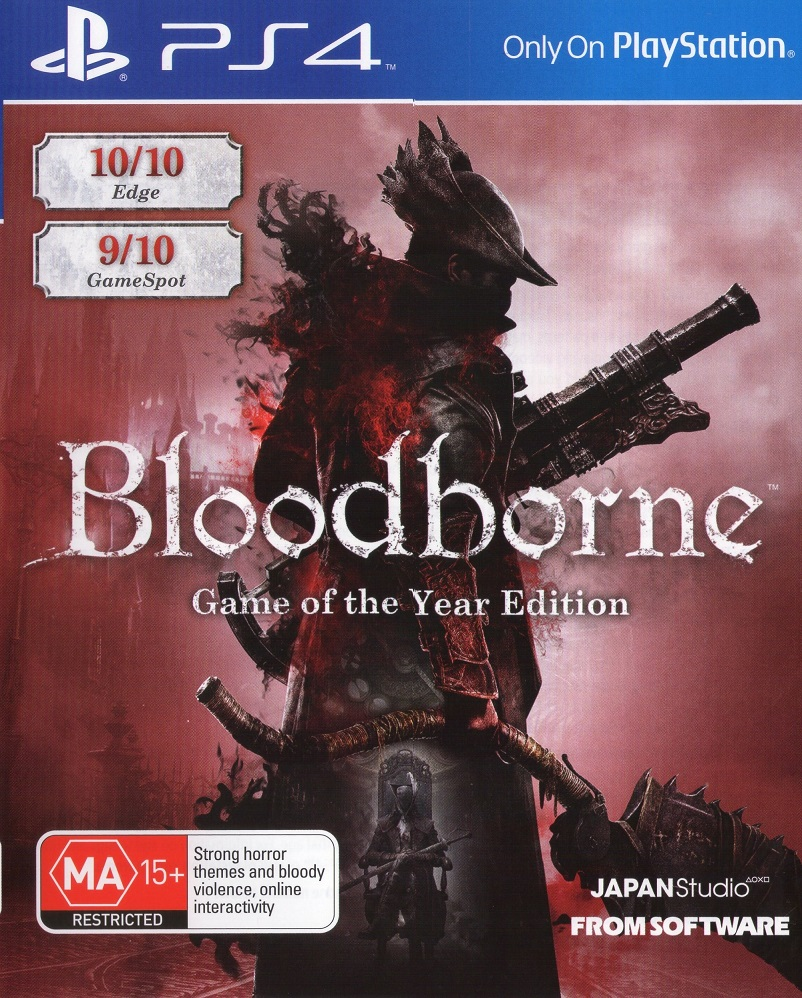 Bloodborne Game of the Year Edition - PlayStation 4 Játékok