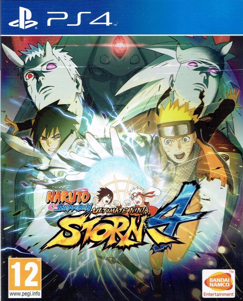 Naruto Ultimate Ninja Storm 4 - PlayStation 4 Játékok
