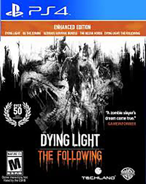 Dying Light The Following Enhanced Edition - PlayStation 4 Játékok