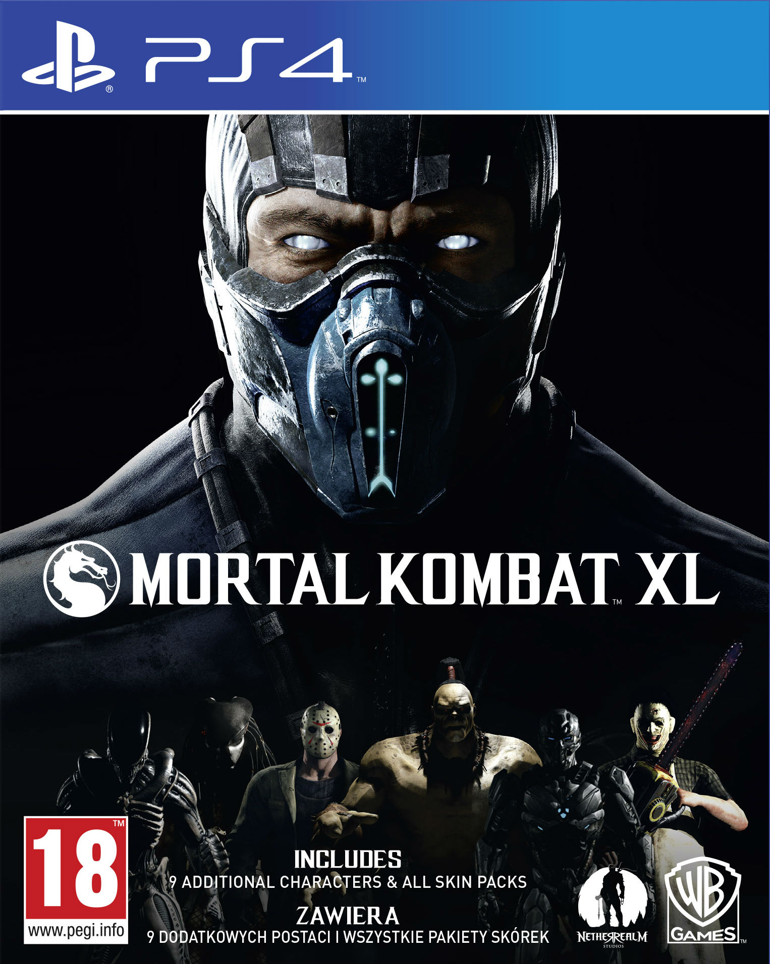 Mortal Kombat XL - PlayStation 4 Játékok