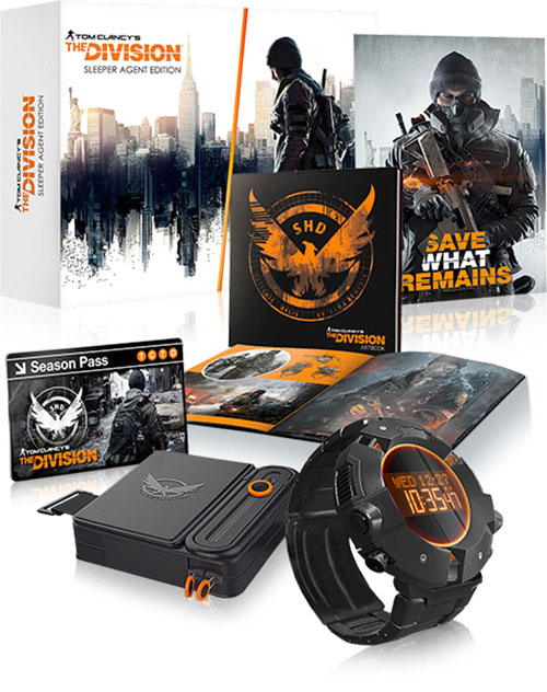 Tom Clancys The Division Sleeper Agent Edition (PS4) - PlayStation 4 Játékok