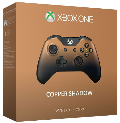 Microsoft Xbox One Wireless Controller 3.5mm Jack Copper Shadow Skin - Xbox One Kiegészítők