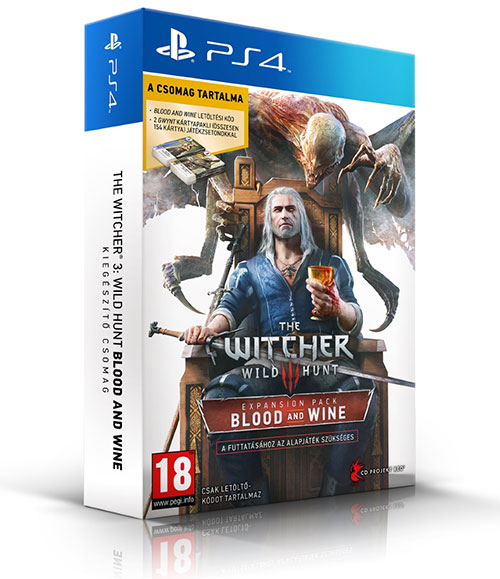 Witcher 3 Blood and Wine - PlayStation 4 Játékok
