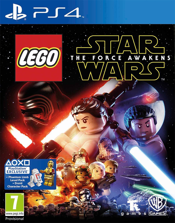 Lego Star Wars The Force Awakens - PlayStation 4 Játékok