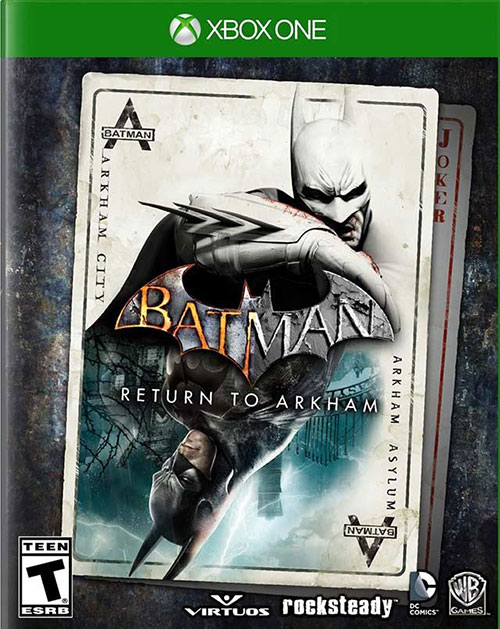Batman Return To Arkham - Xbox One Játékok