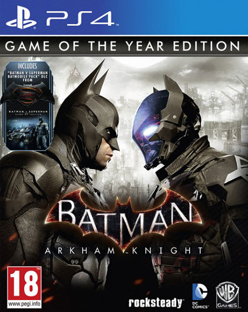 Batman Arkham Knight Game of the Year - PlayStation 4 Játékok