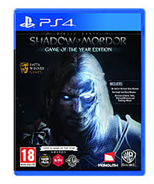 Middle Earth Shadow of Mordor GOTY Edition