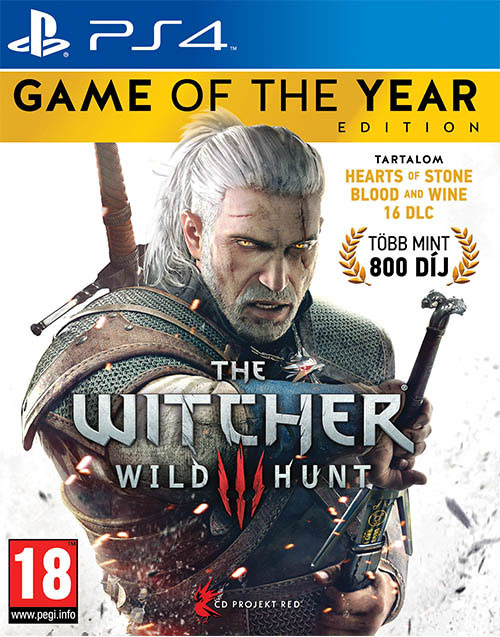 The Witcher 3 Wild Hunt Game of the Year Edition Magyar