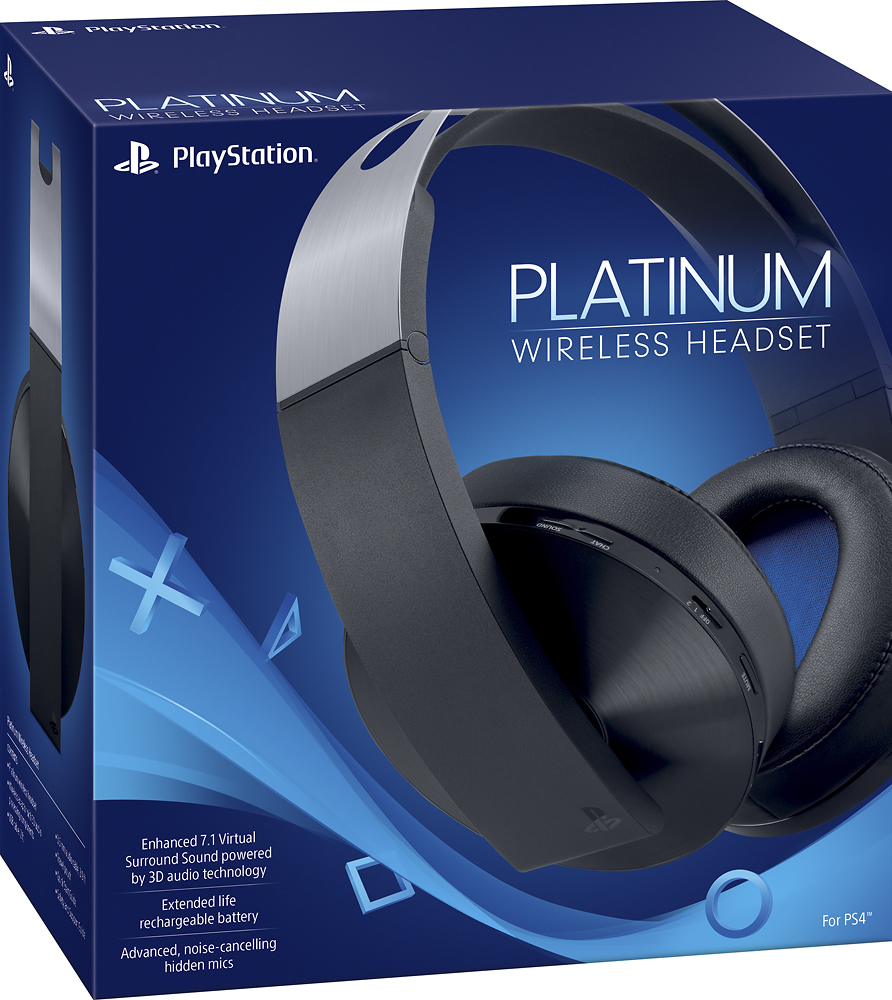 Sony Playstation 4 Platinum 7.1 Wireless Headset