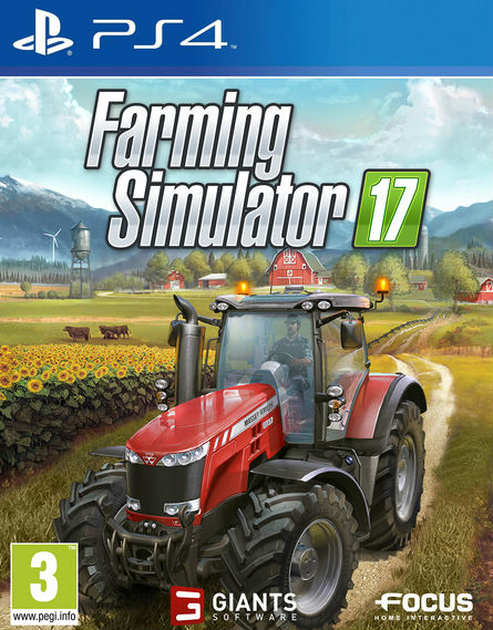 Farming Simulator 17 PS4 - PlayStation 4 Játékok