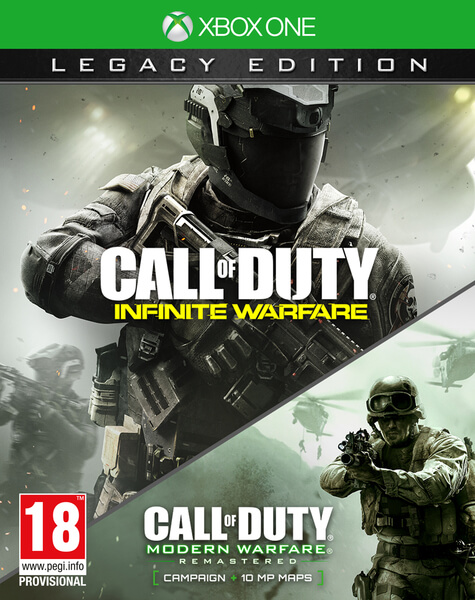 Call of Duty Infinite Warfare Legacy Edition Xbox One - Xbox One Játékok