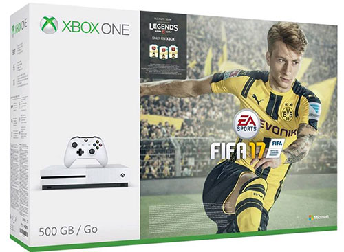 Microsoft Xbox One S 500 GB FIFA 17 Bundle - Xbox One Gépek