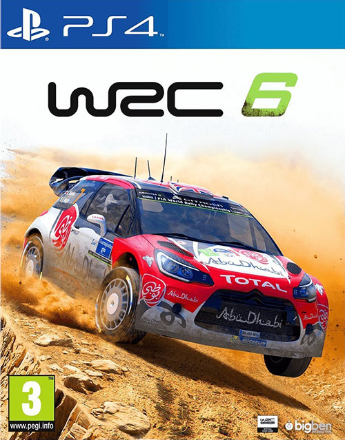 World Rally Championship 6 WRC 6 - PlayStation 4 Játékok