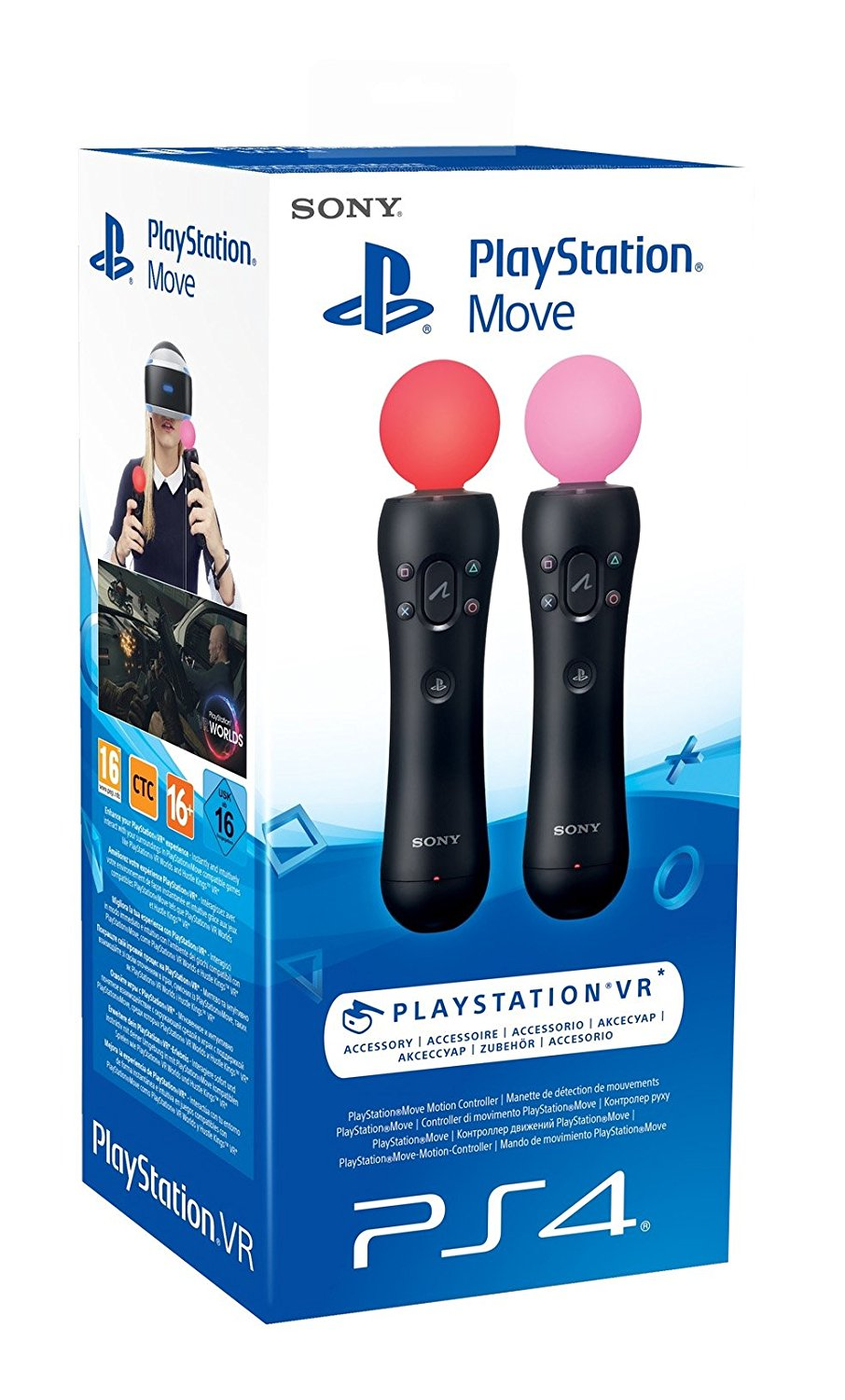 Sony Playstation 4 Move Twin Pack