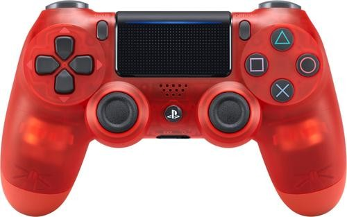 Sony Playstation 4 Dualshock 4 Wireless Controller Red Crystal