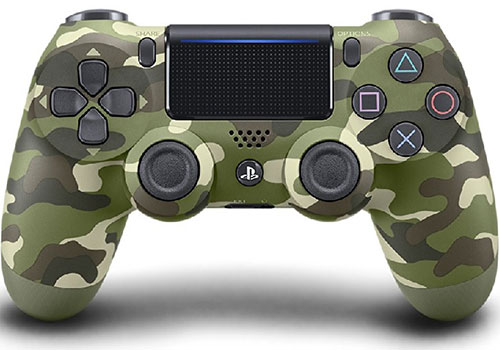 Sony Playstation 4 Dualshock 4 Green Camouflage Wireless Controller - PlayStation 4 Kiegészítők