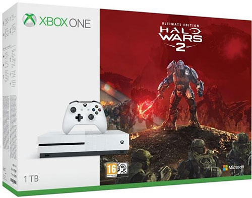Microsoft Xbox One S 1TB Halo Wars 2 Ultimate Edition