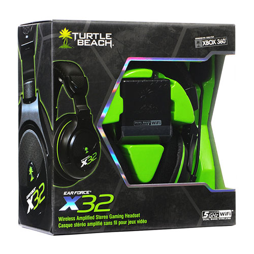 Turtle Beach Ear Force X32 Xbox 360 Wireless Gaming Headset - Xbox 360 Kiegészítők
