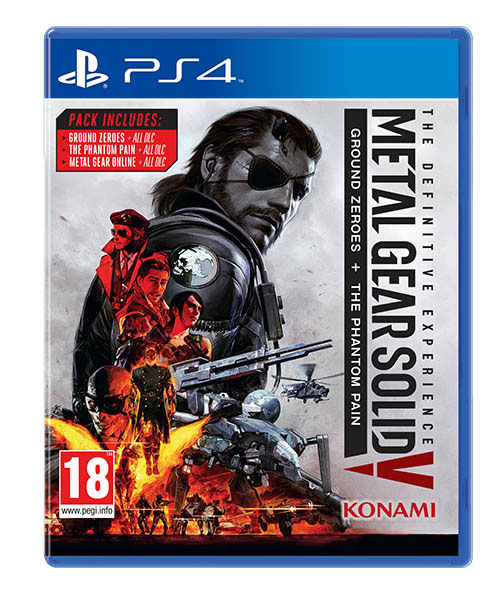 Metal Gear Solid V Definitive Experience - PlayStation 4 Játékok