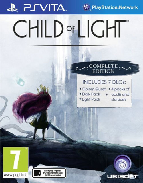 Child of Light - PS Vita Játékok
