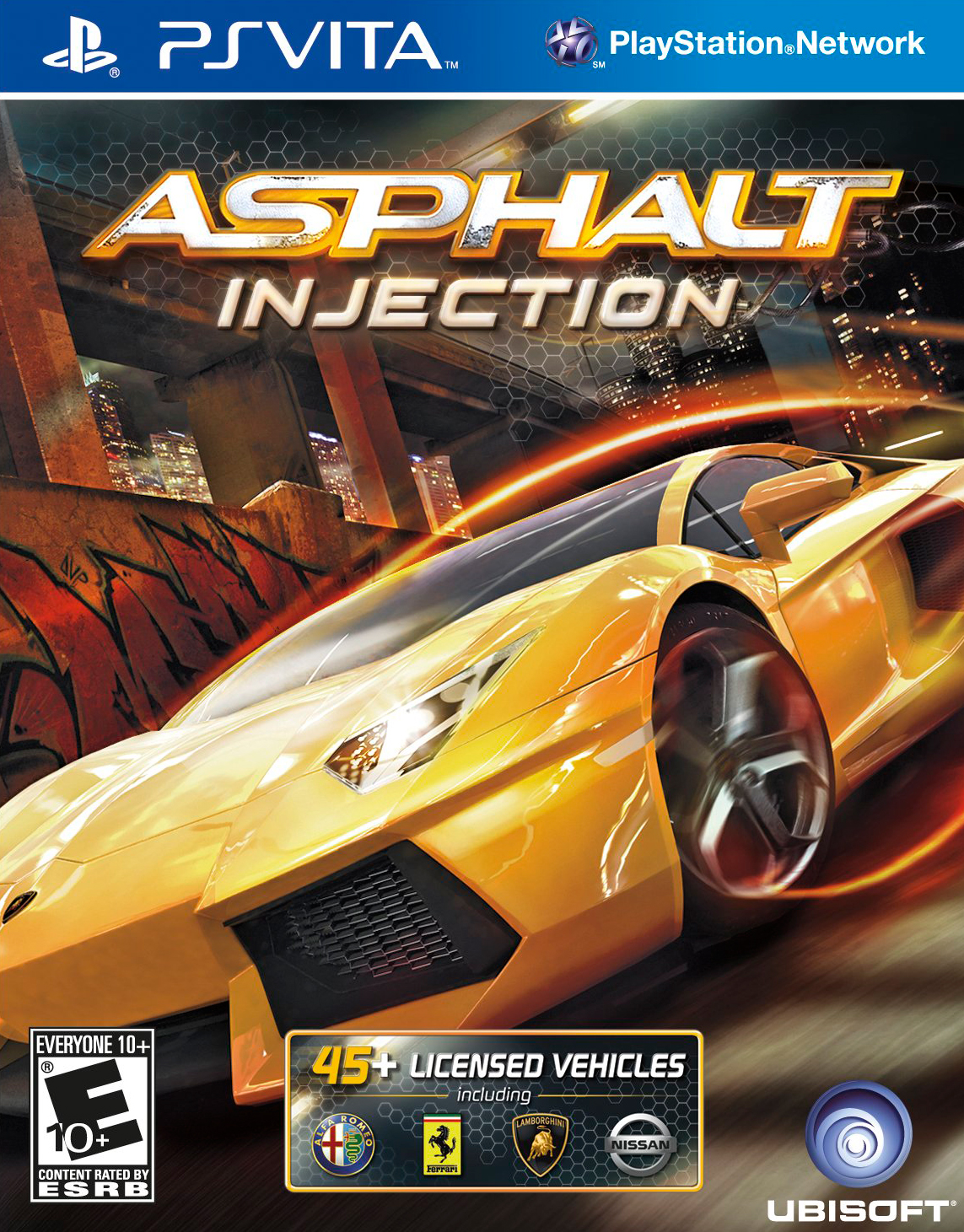 Asphalt Injection - PS Vita Játékok