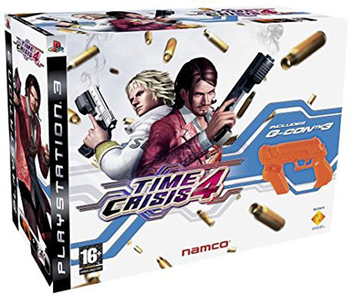 Time Crisis 4 Guncon 3 Bundle