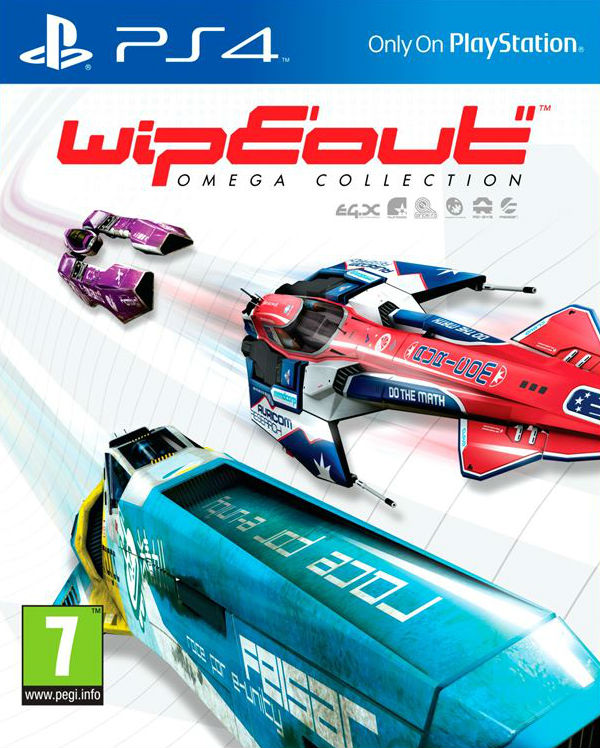 Wipeout Omega Collection - PlayStation 4 Játékok