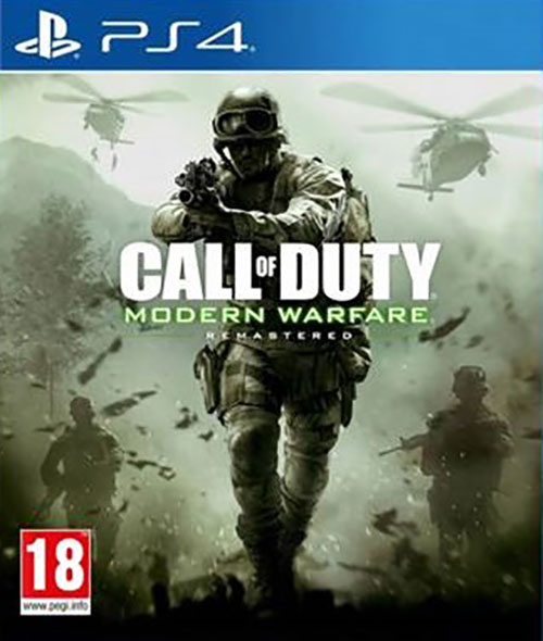 Call of Duty: Modern Warfare Remastered - PlayStation 4 Játékok