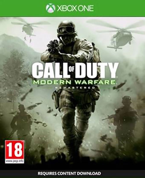 Call of Duty: Modern Warfare Remastered - Xbox One Játékok