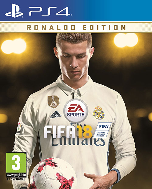 FIFA 18 Ronaldo Edition - PlayStation 4 Játékok