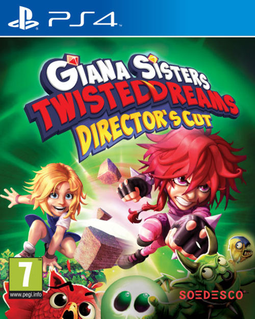 Giana Sisters Twisted Dreams Directors Cut - PlayStation 4 Játékok