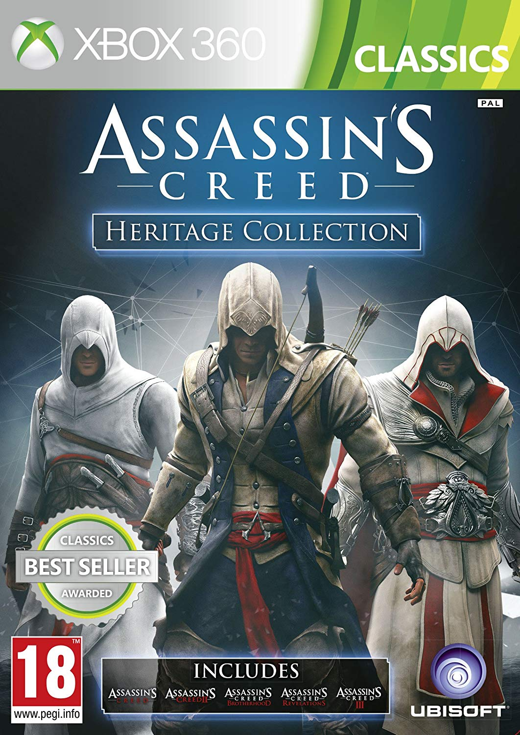 Assassins Creed Heritage Collection - Xbox 360 Játékok