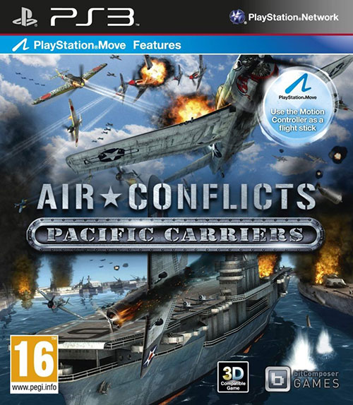Air Conflicts - Pacific Carriers - PlayStation 3 Játékok