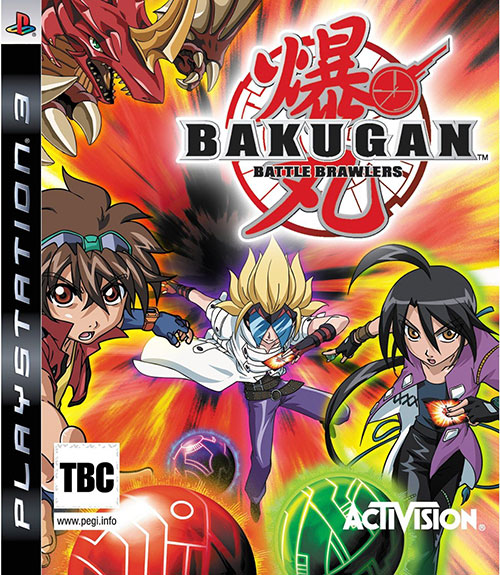 Bakugan Battle Brawlers - PlayStation 3 Játékok