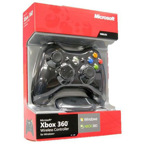 Microsoft Xbox 360 Wireless Controller + Wireless Receiver PC-hez - Xbox 360 Kiegészítők