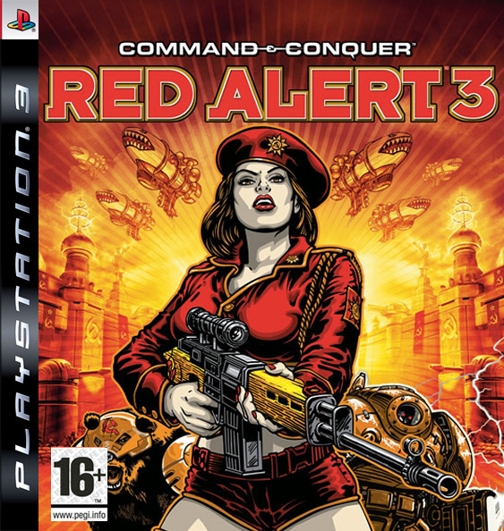 Command & Conquer  Red Alert 3 Ultimate Edition - PlayStation 3 Játékok