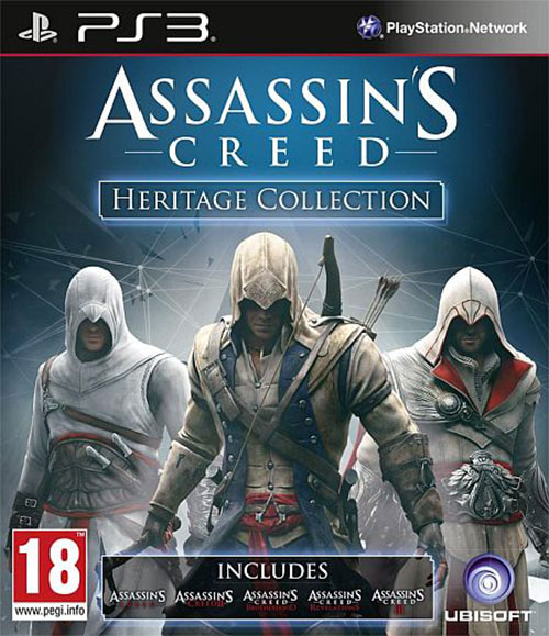 Assassins Creed Heritage Collection - PlayStation 3 Játékok