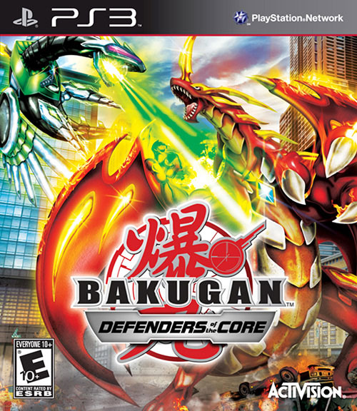 Bakugan - Defenders of the Core - PlayStation 3 Játékok