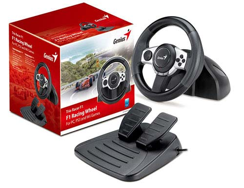 Genius F1 Racing Wheel PC,PS3