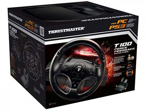 Thrustmaster T100 Force Feedback Racing Wheel (kormány) PS3,PS4,PC