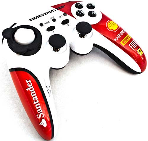 Thrustmaster Ferrari F1 Wireless Gamepad ALONSO EDITION PS3