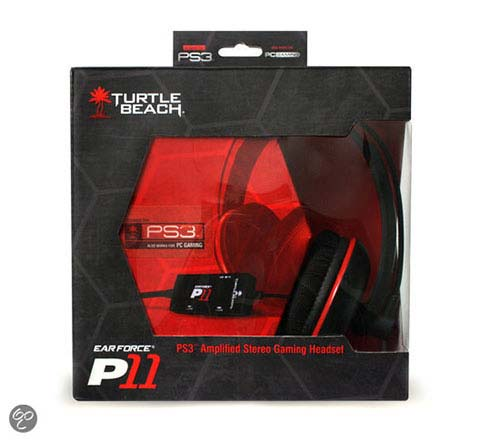 Turtle Beach Ear Force P11 Stereo Gaming Headset