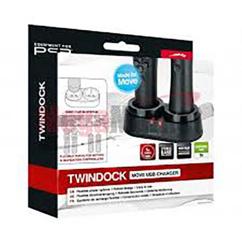 PS 3 Twindock Move Usb Charger