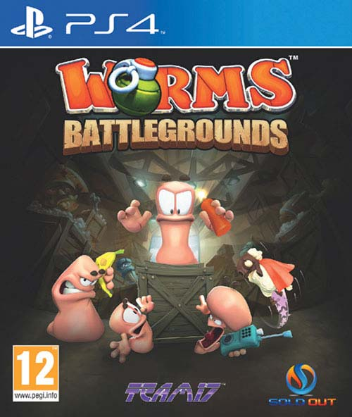 Worms Battlegrounds - PlayStation 4 Játékok