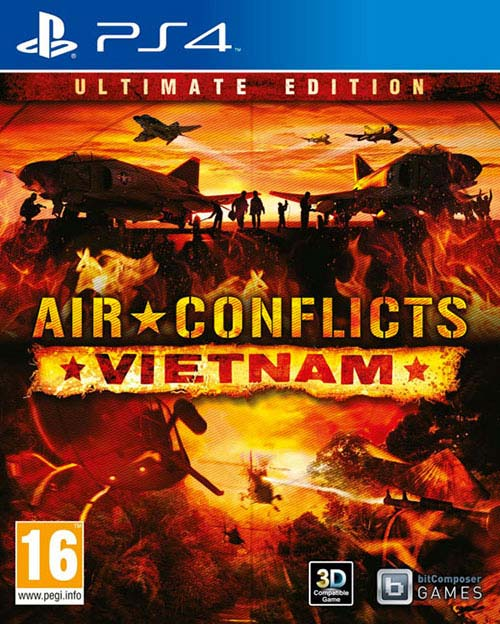 Air Conflicts: Vietnam Ultimate Edition - PlayStation 4 Játékok