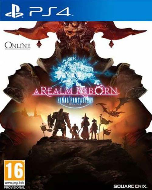 Final Fantasy XIV: A Realm Reborn - PlayStation 4 Játékok