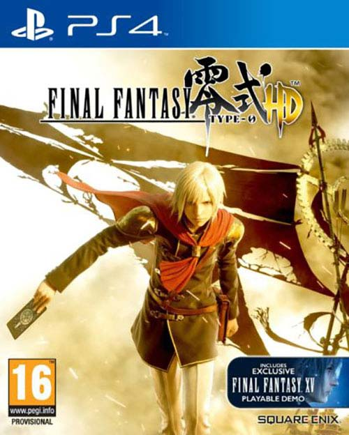 Final Fantasy Type-0 HD - PlayStation 4 Játékok