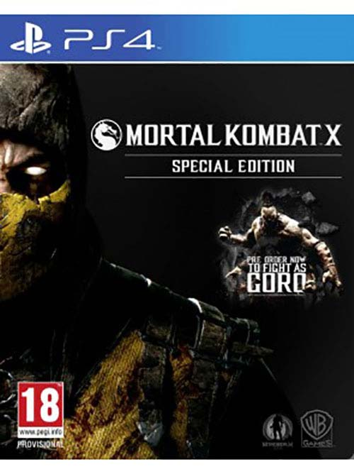 Mortal Kombat X Special Edition - PlayStation 4 Játékok