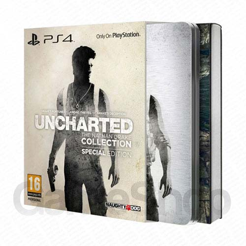 Uncharted The Nathan Drake Collection Special Edition - PlayStation 4 Játékok