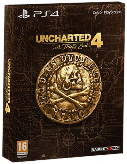 Uncharted 4 A Thiefs End Special Edition - PlayStation 4 Játékok
